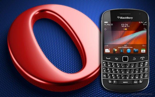 Opera Mini web browser for blackberry متصفح اوبرا للبلاك بيرى