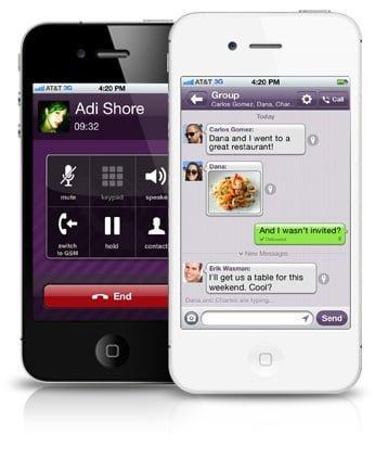 برنامج فايبر للايفون Viber for iPhone