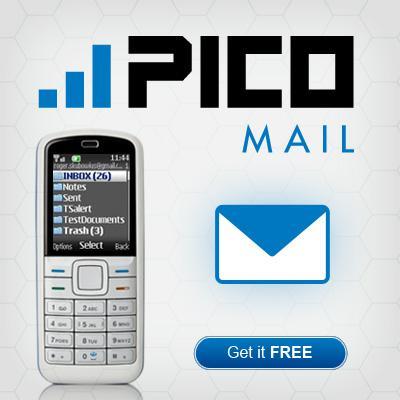تحميل برنامج ارسال واستقبال الايميلات بيكو مايل للنوكيا مجانا PicoMail