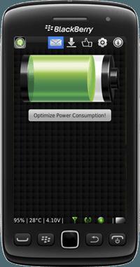 تحميل برنامج الحفاظ على عمر البطارية للبلاك بيري  BatteryBooster