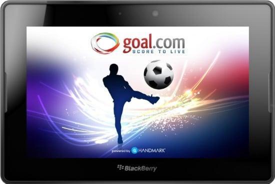 تحميل برنامج اخبار كرة القدم المحلي والعالمي للبلاك بيري Goal