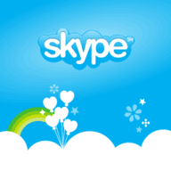 Skype splash 256x256 192x1921 - احدث اصدار برنامج سكايب نوكيا Skype for nokia