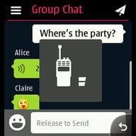 برنامج الدردشه الرائع وي شات للجوالك النوكيا nokia WeChat