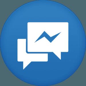 facebook messenger icon 300x300 - برنامج فيس بوك ماسنجر للجالكسي  Facebook Messenger galaxy