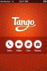 تحميل برنامج الاتصال المجانى تانجو للاندرويد tango android