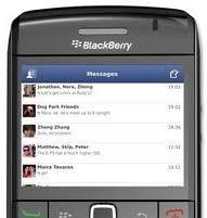 برنامج فيس بوك ماسنجر للبلاك بيري facebook messenger blackberry