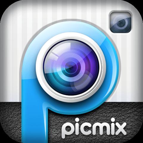 PicMix for blackberry برنامج دمج الصور للبلاك بيري